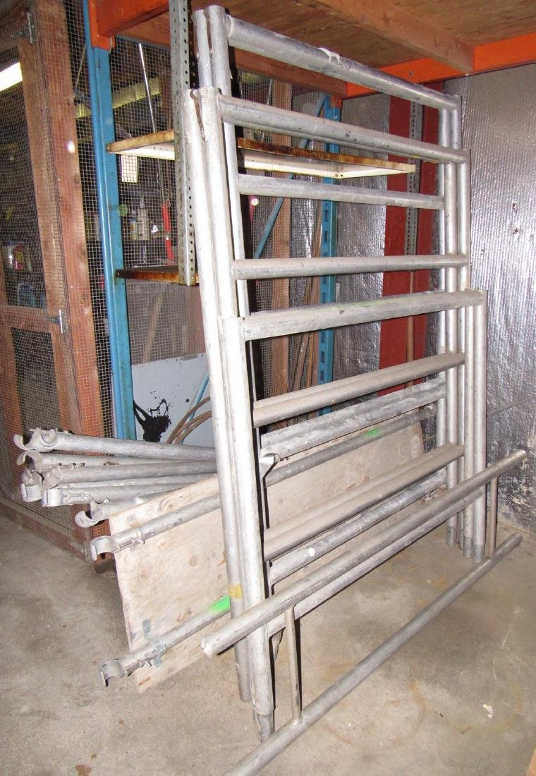 Aluminum Scaffolding & Cable