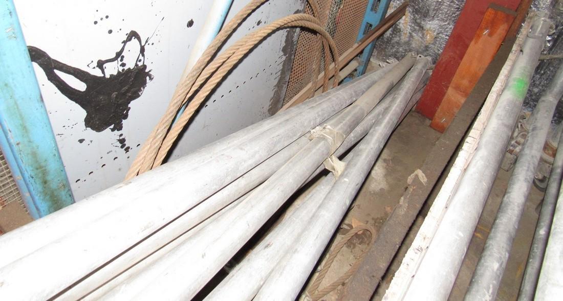 Aluminum Scaffolding & Cable - 3