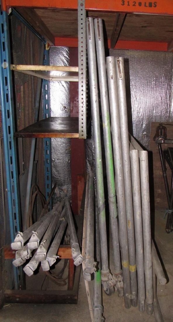 Aluminum Scaffolding & Cable - 4