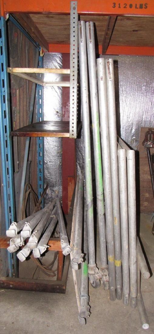 Aluminum Scaffolding & Cable - 5
