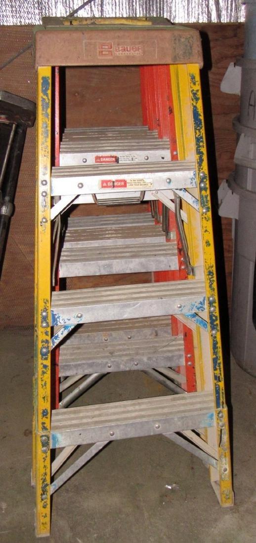 4 4' Fiberglass Step Ladders