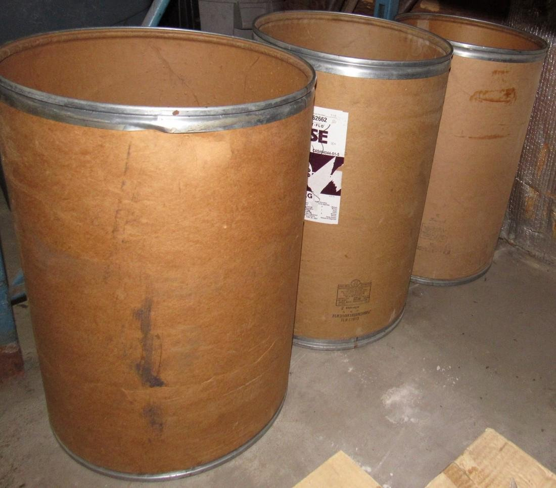 4 Corrugated Drums