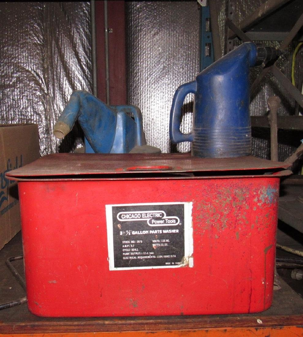 Chicago Electric Parts Washers & Cans