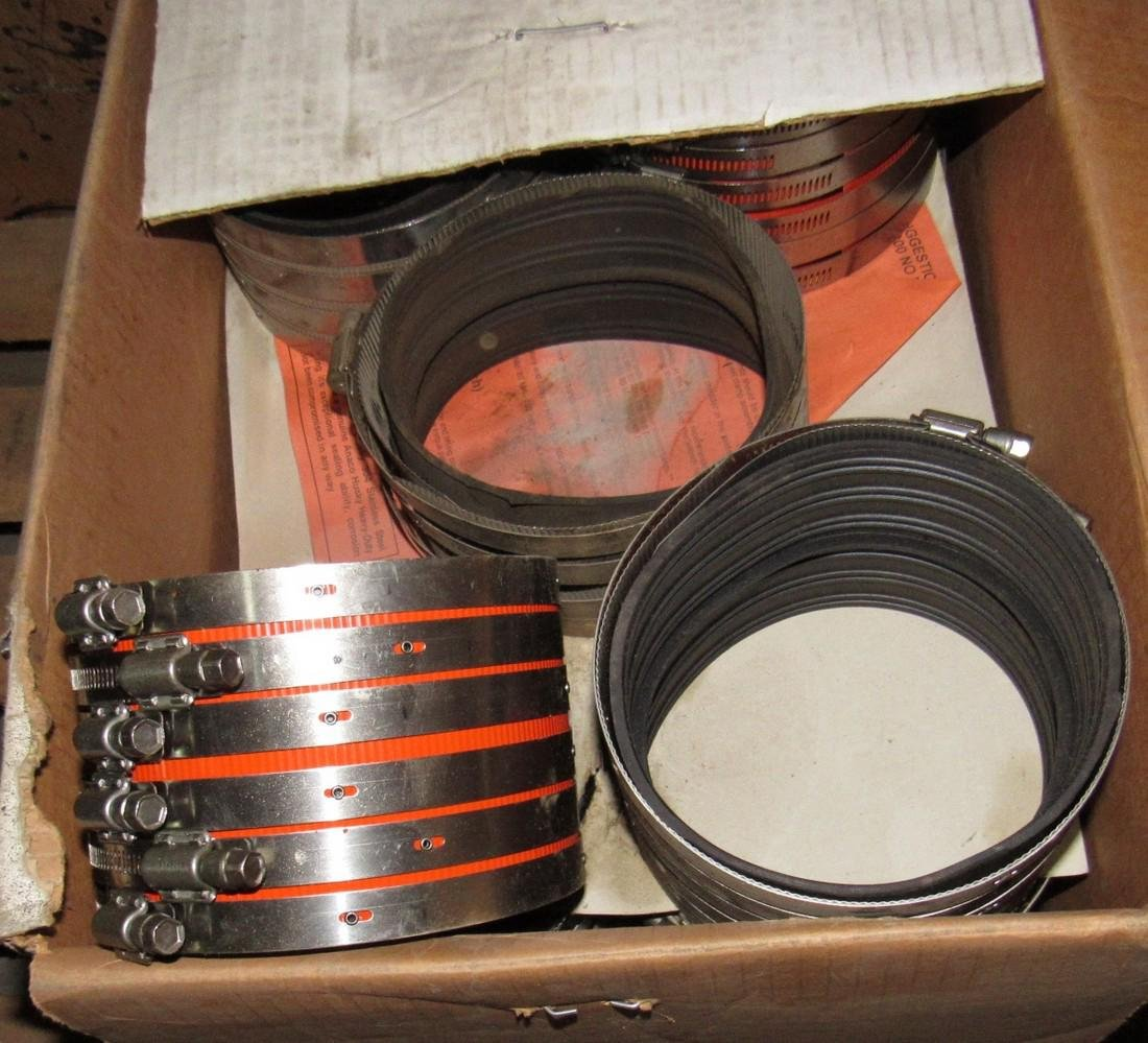 "Tyler 6"" & Husky 5"" No Hub Couplings - 3"