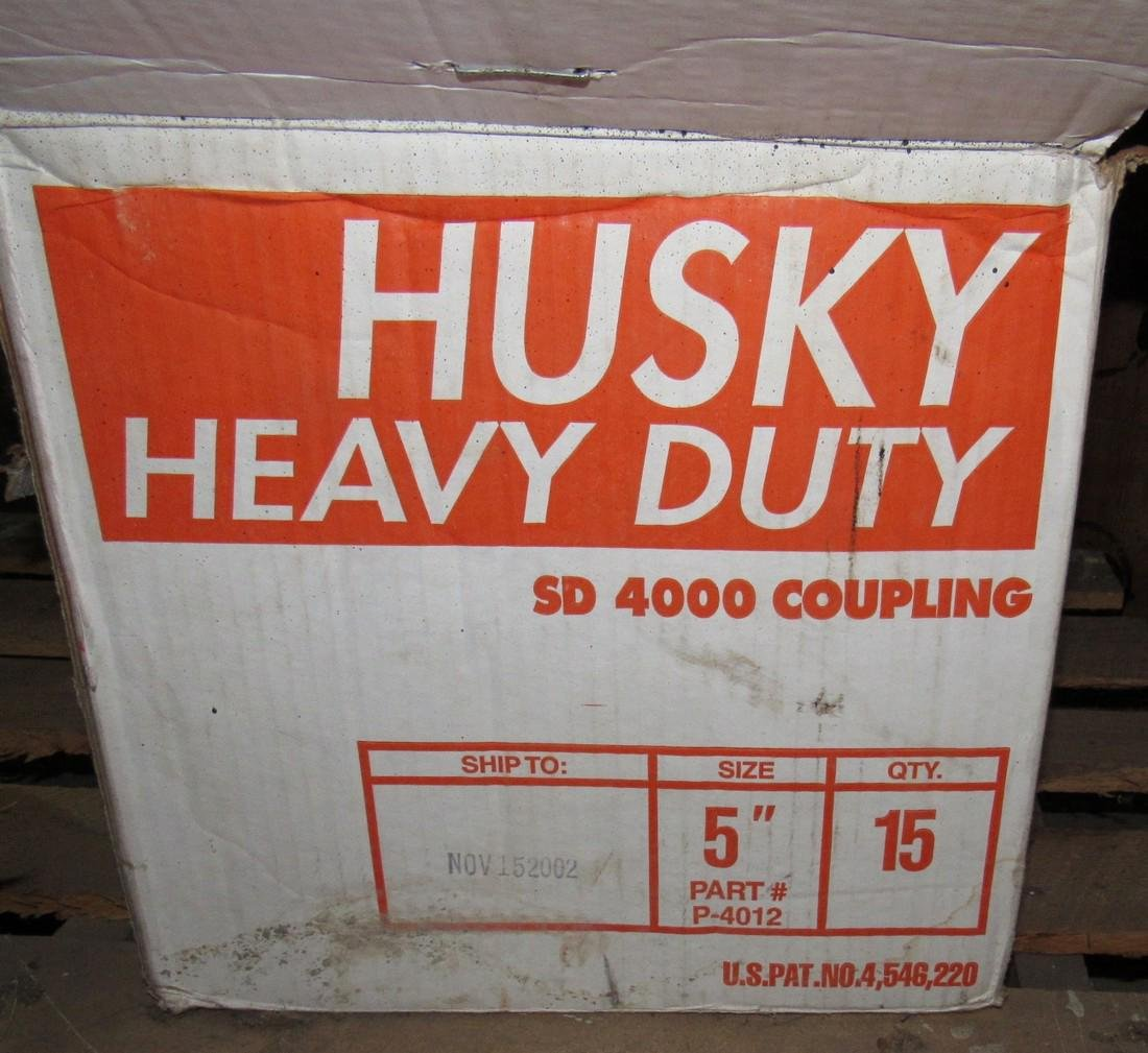 "Tyler 6"" & Husky 5"" No Hub Couplings - 5"