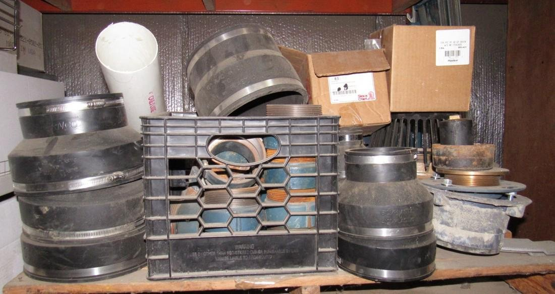 Rubber Ferncos Strainers Pipe Fittings