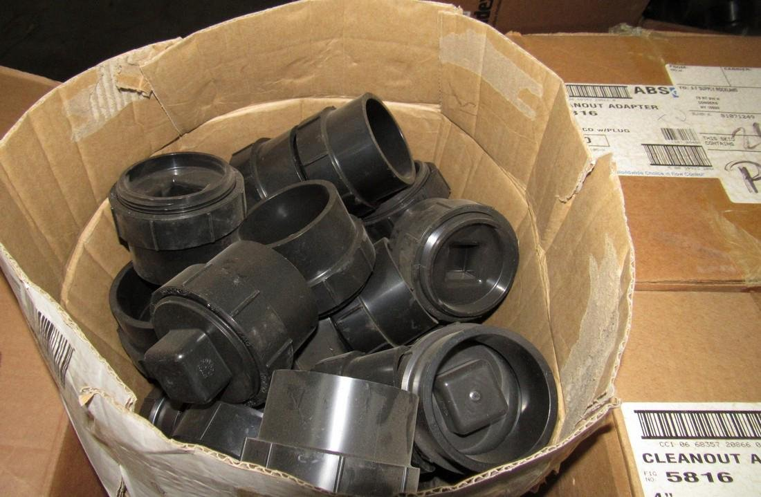 Pallet Contents Cleanout Adapters Heel Outs - 6