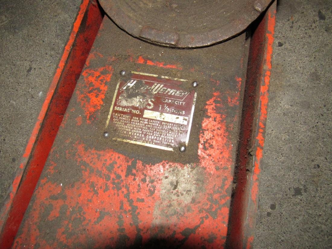 1 1/2 Ton Hein Werner Floor Jack & Creeper - 3