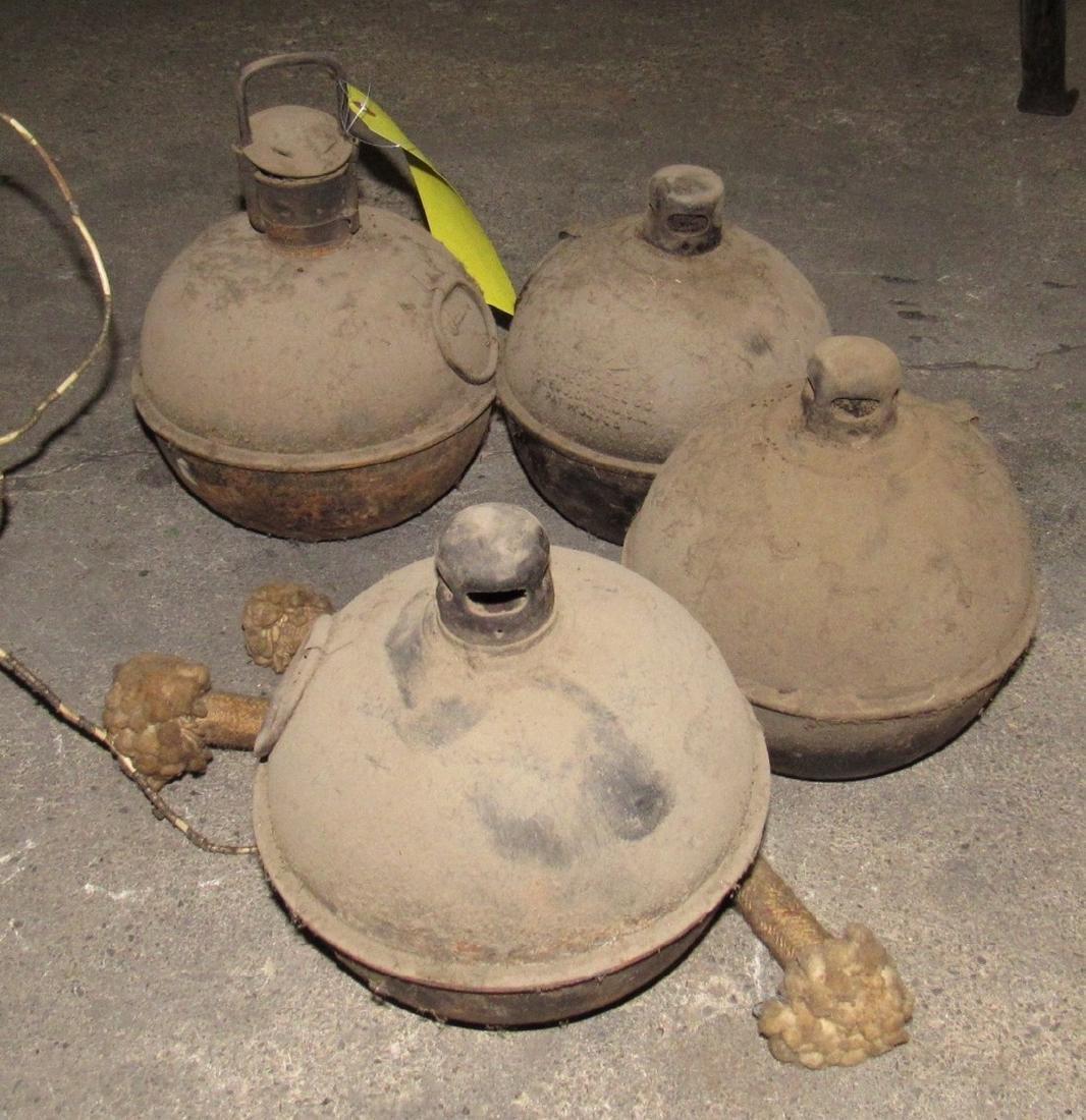 4 Vintage Torches