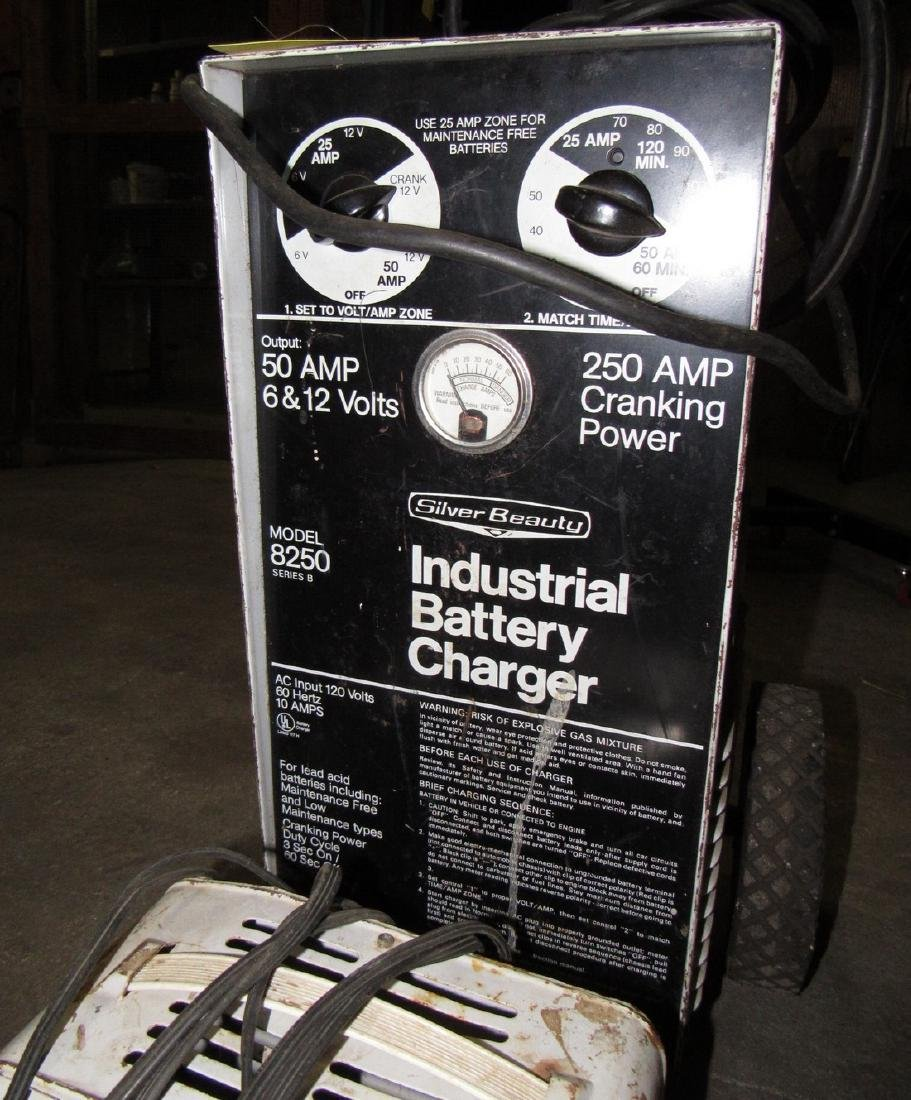 Silver Beauty Industrial Battery Charger - 2