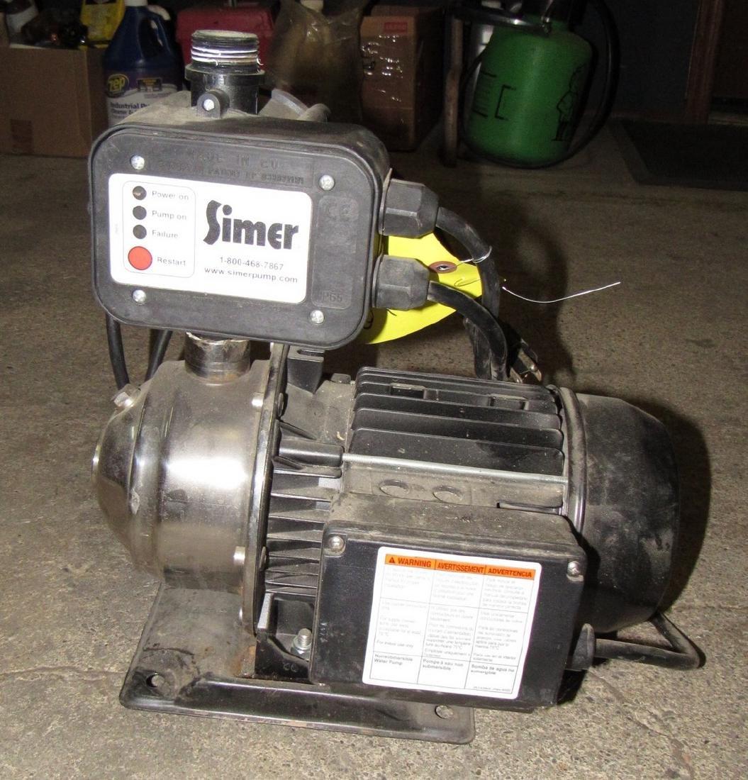 Simer Pump