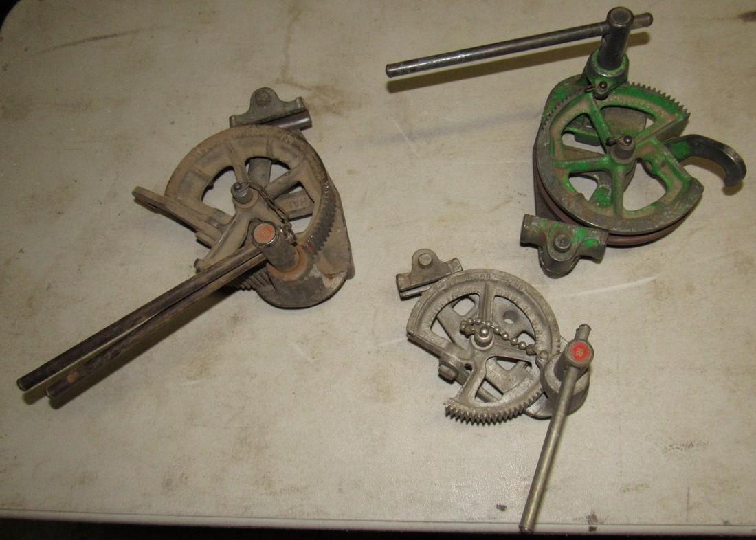 3 Pipe Benders