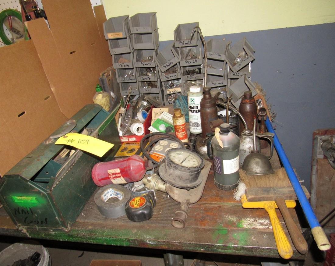 Oil Cans Bottle Jacks Hardware Dust Pans Tools