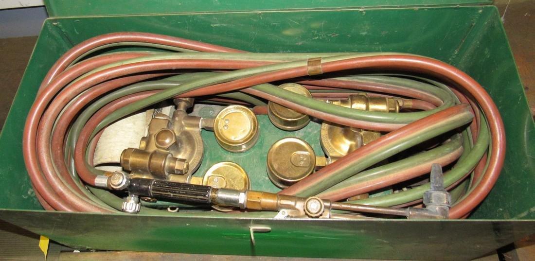 NCG Torch Hose Oxygen & Acetylene Gauges