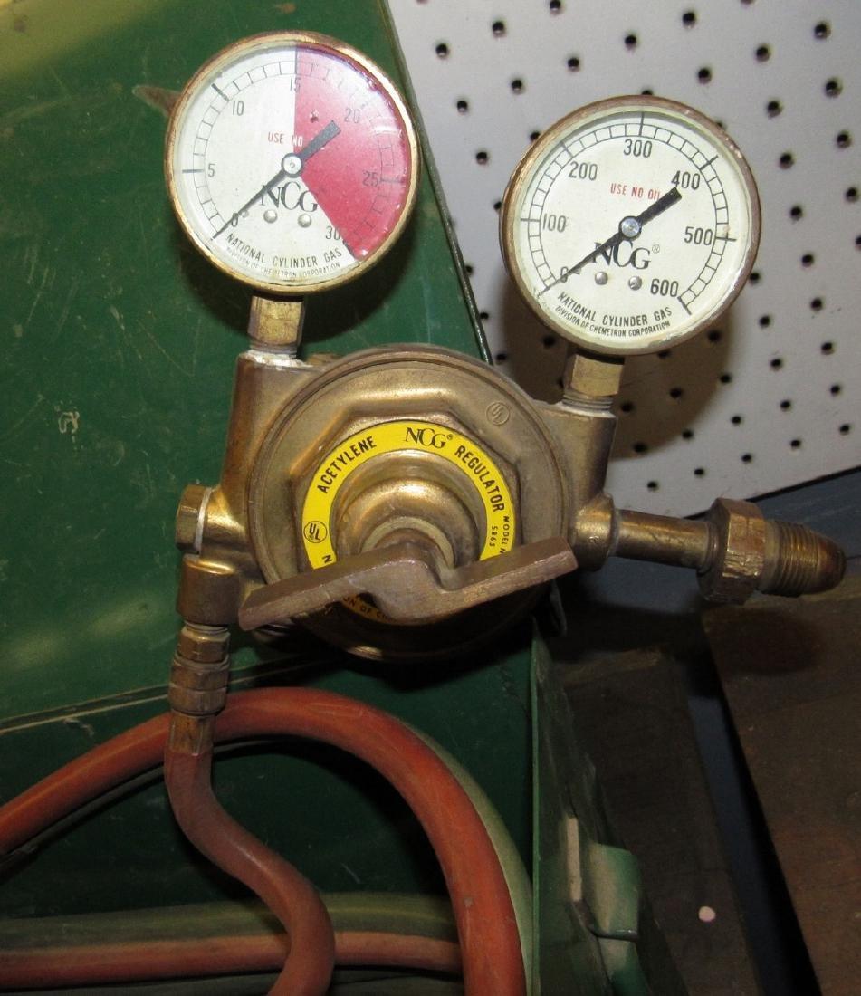 NCG Torch Hose Oxygen & Acetylene Gauges - 3
