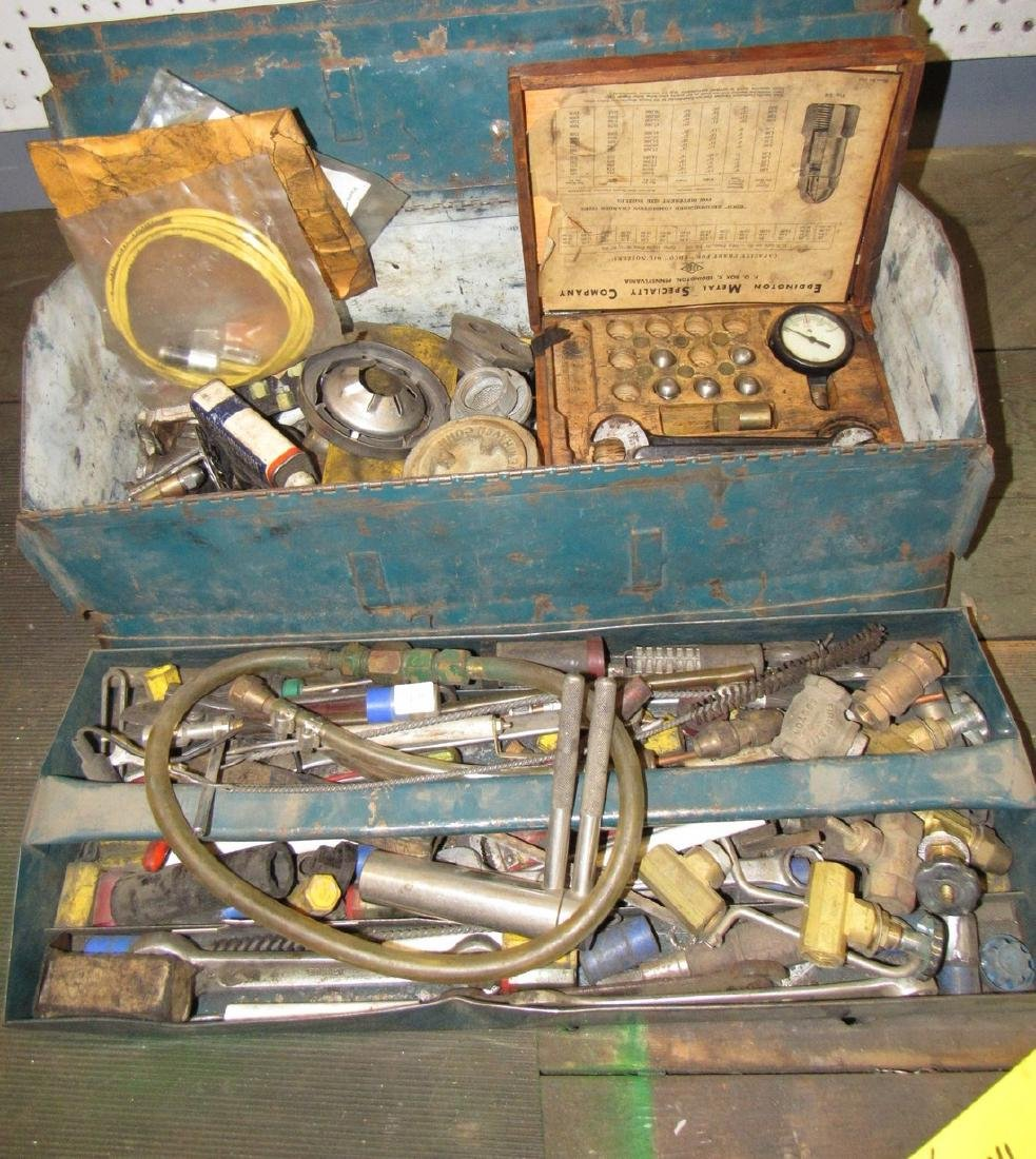 Bonney Wrench Fittings & Misc Hardware Tool Box