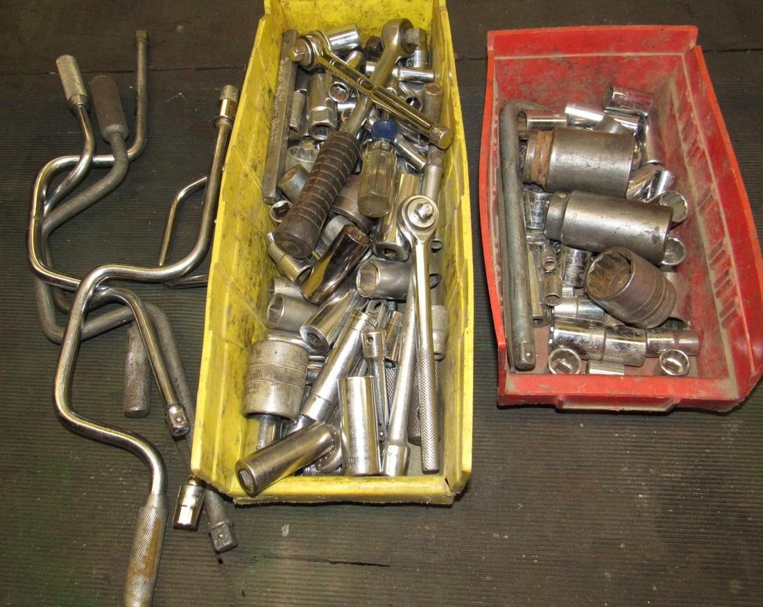 Sockets Rachets Tool Lot
