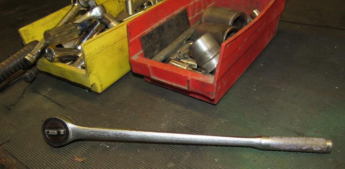 Sockets Rachets Tool Lot - 5
