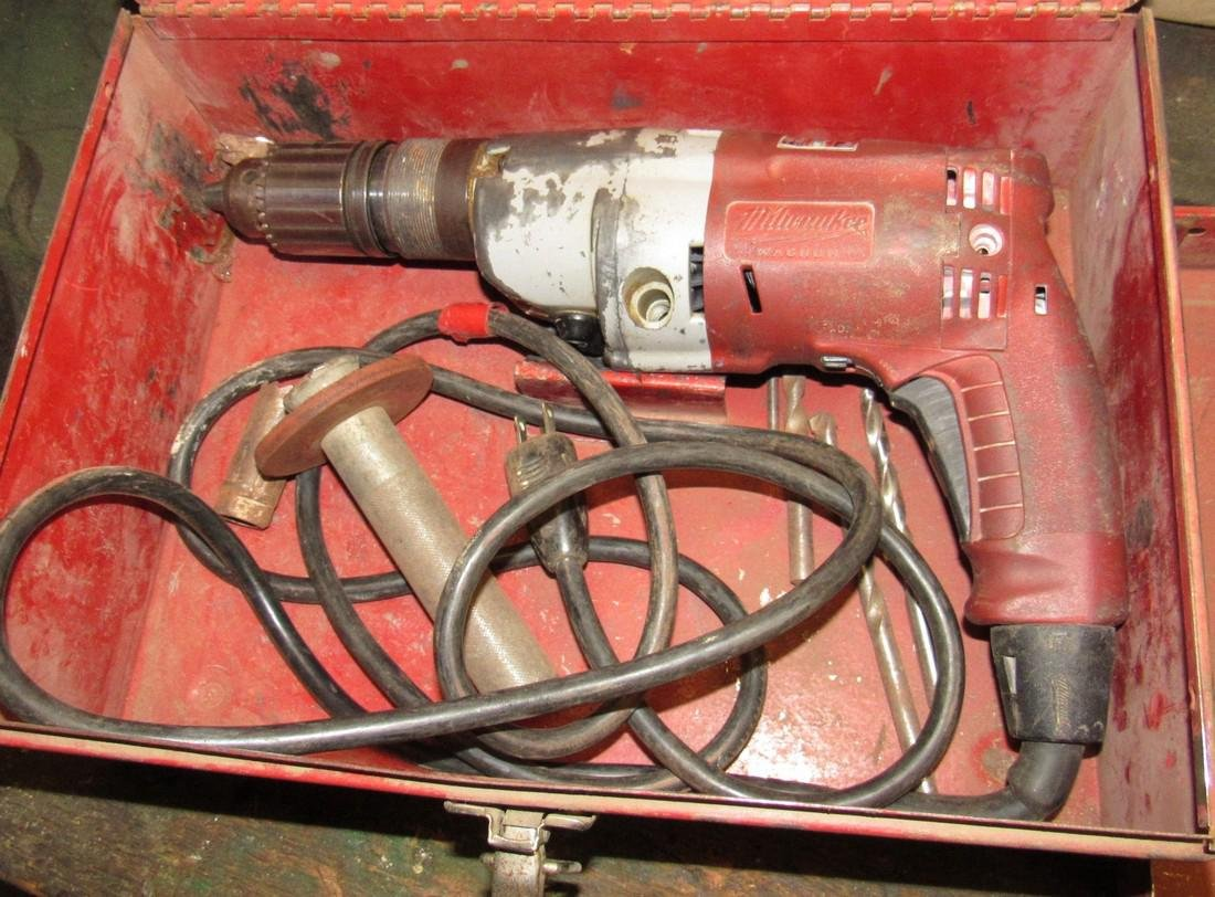 "1/2"" Drive Electric Milwaukee Drill"