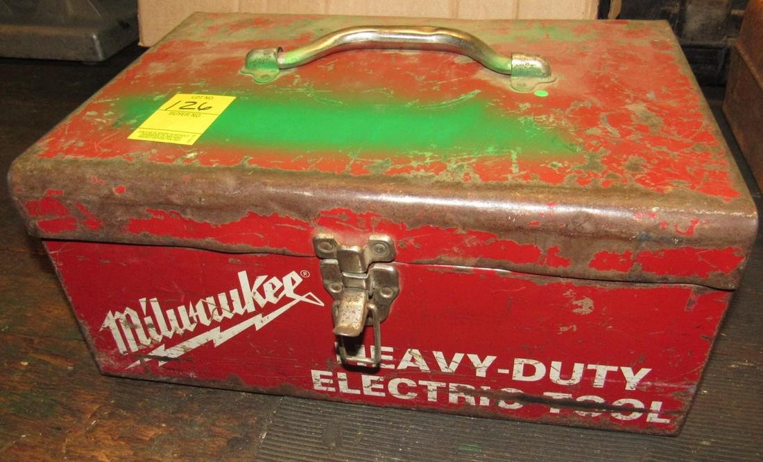 "1/2"" Drive Electric Milwaukee Drill - 2"