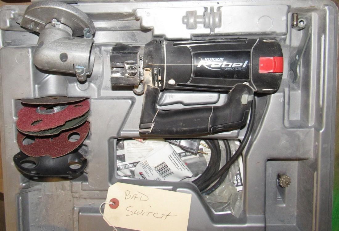 Rebel Roto Zip for Parts or Repair