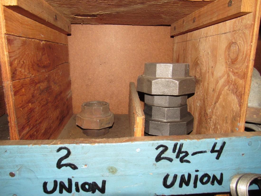 "1/2"" - 4"" Pipe Fittings Unions Bushings Tee's Elbows - 4"