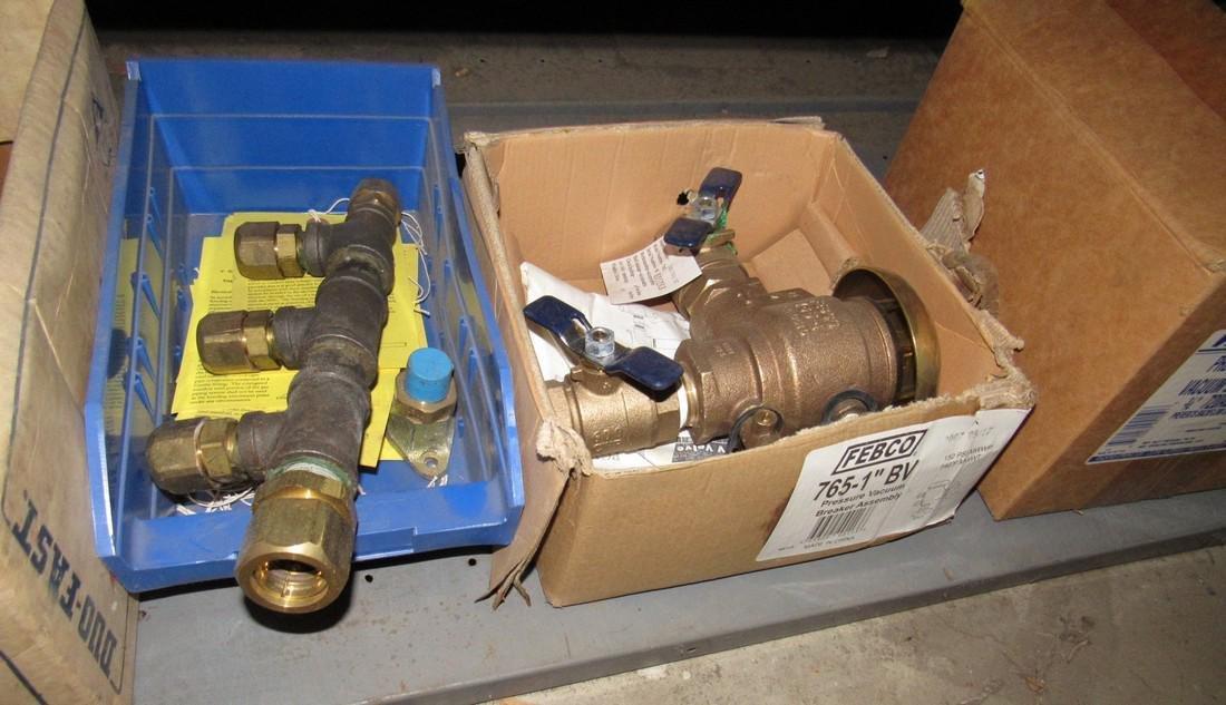 Brass Fittings Pressure Breaker Vacuum Assembly - 6