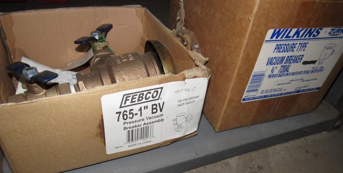 Brass Fittings Pressure Breaker Vacuum Assembly - 7