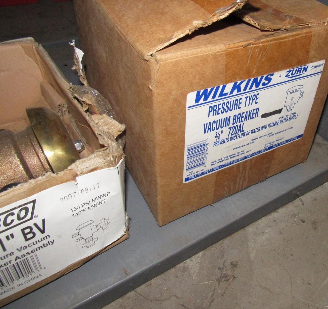 Brass Fittings Pressure Breaker Vacuum Assembly - 8