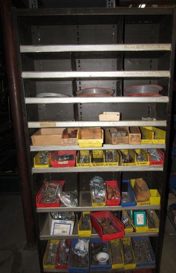 Parts Shelf Hardware Lag Bolts Split Rings Nuts