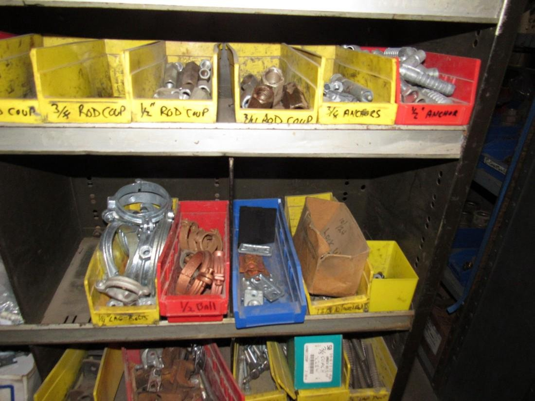 Parts Shelf Hardware Lag Bolts Split Rings Nuts - 3
