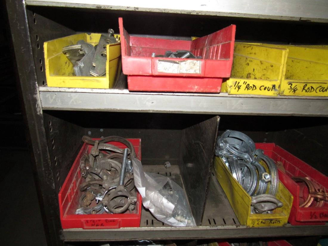 Parts Shelf Hardware Lag Bolts Split Rings Nuts - 4