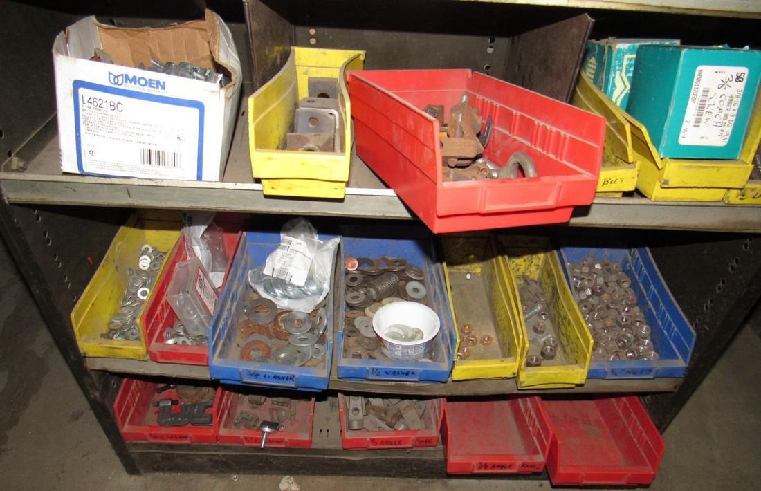 Parts Shelf Hardware Lag Bolts Split Rings Nuts - 5