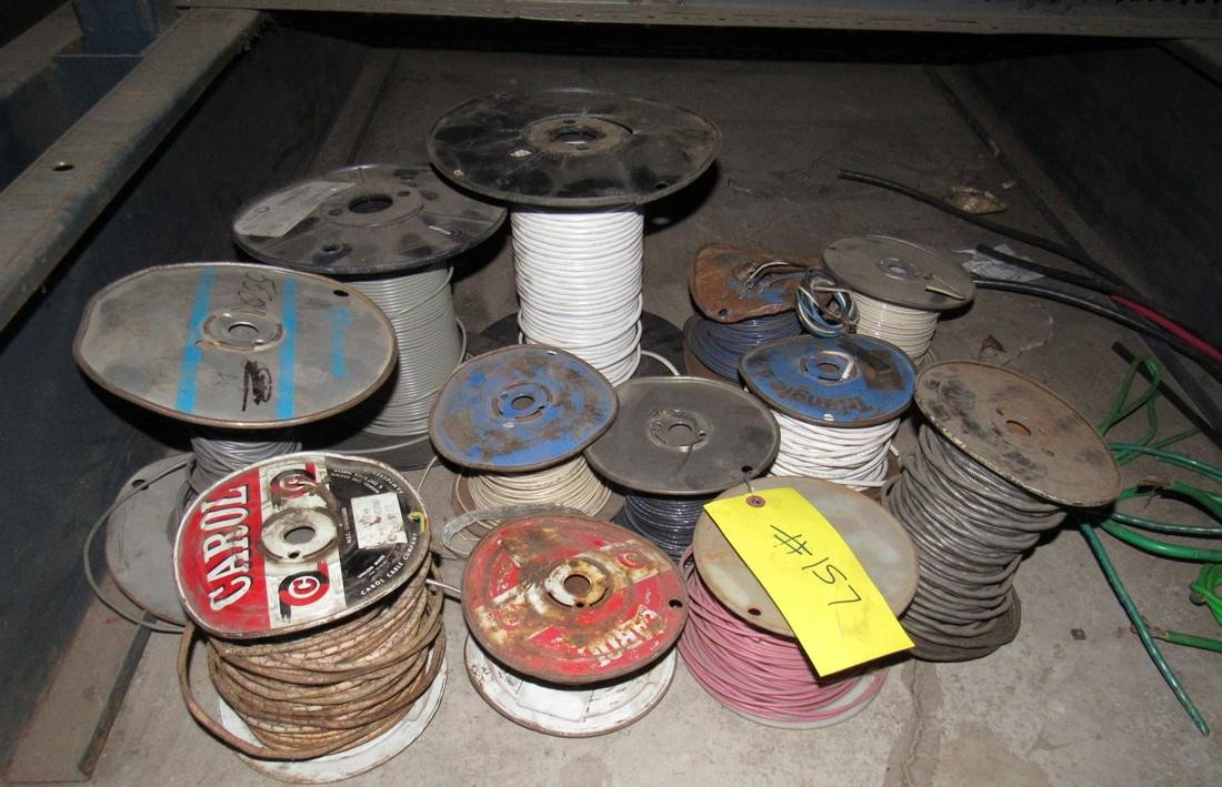 Spools of Electrical Wire