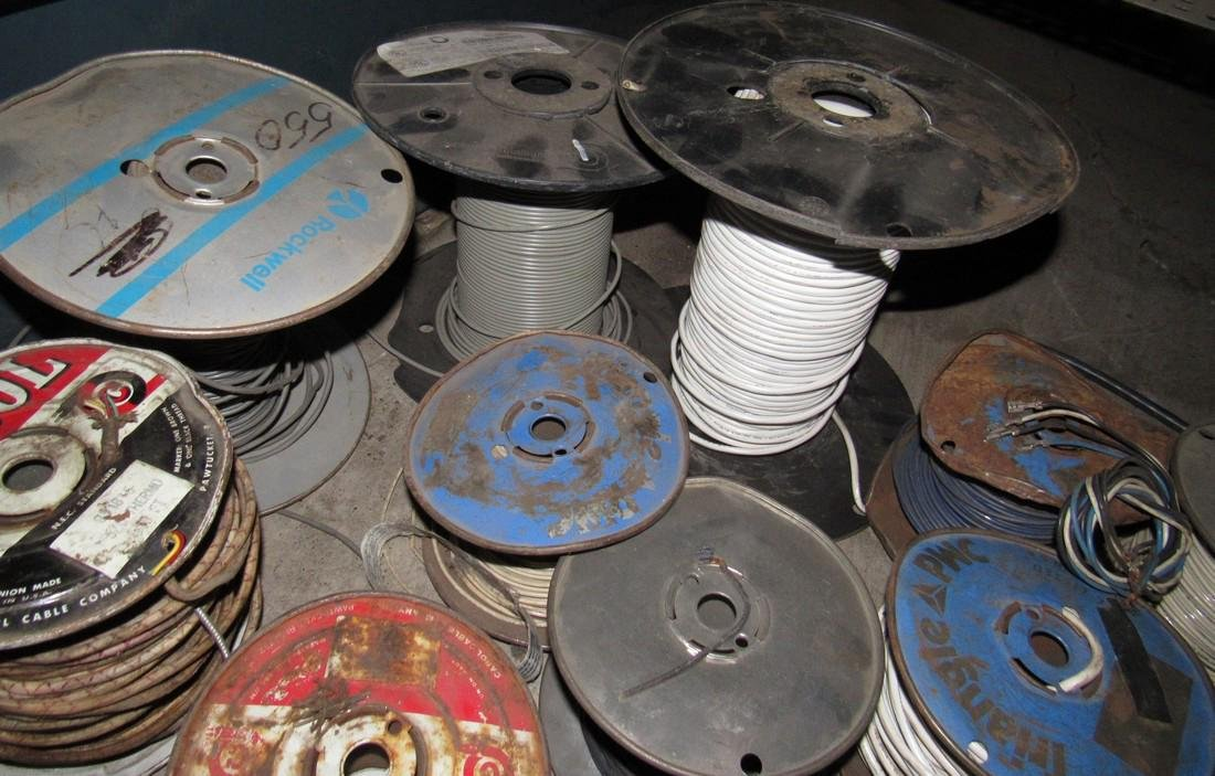 Spools of Electrical Wire - 2