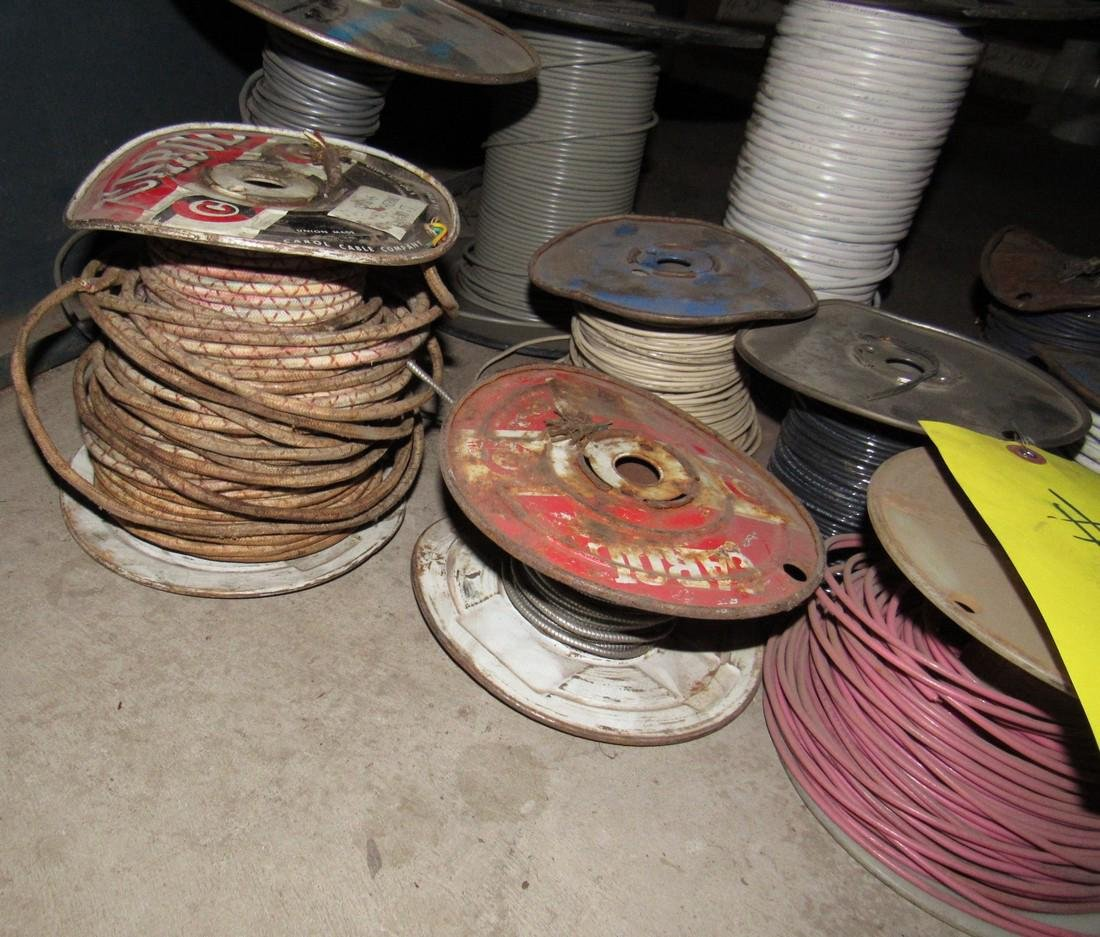 Spools of Electrical Wire - 3