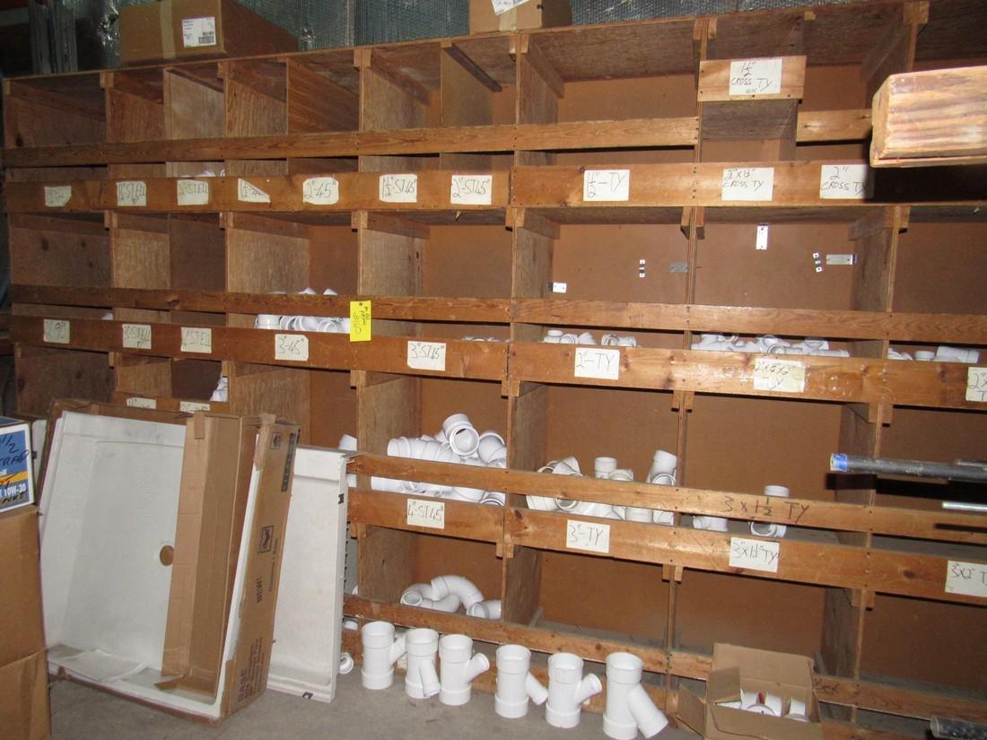 Large Lot of PVS Fittings