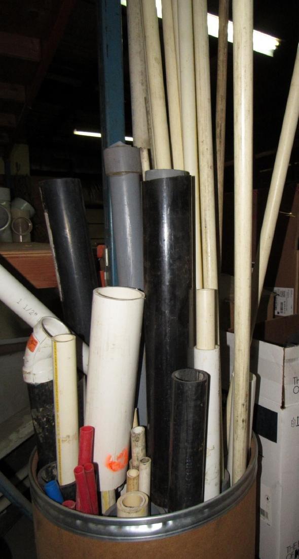 Scrap Piece of Steel Pipe PVC & Misc - 2