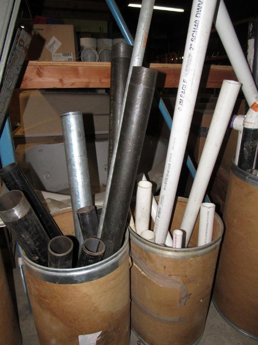 Scrap Piece of Steel Pipe PVC & Misc - 3