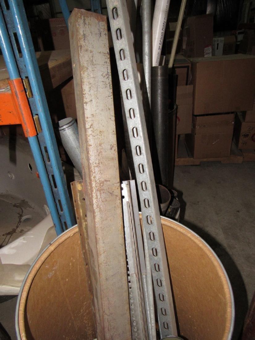 Scrap Piece of Steel Pipe PVC & Misc - 4