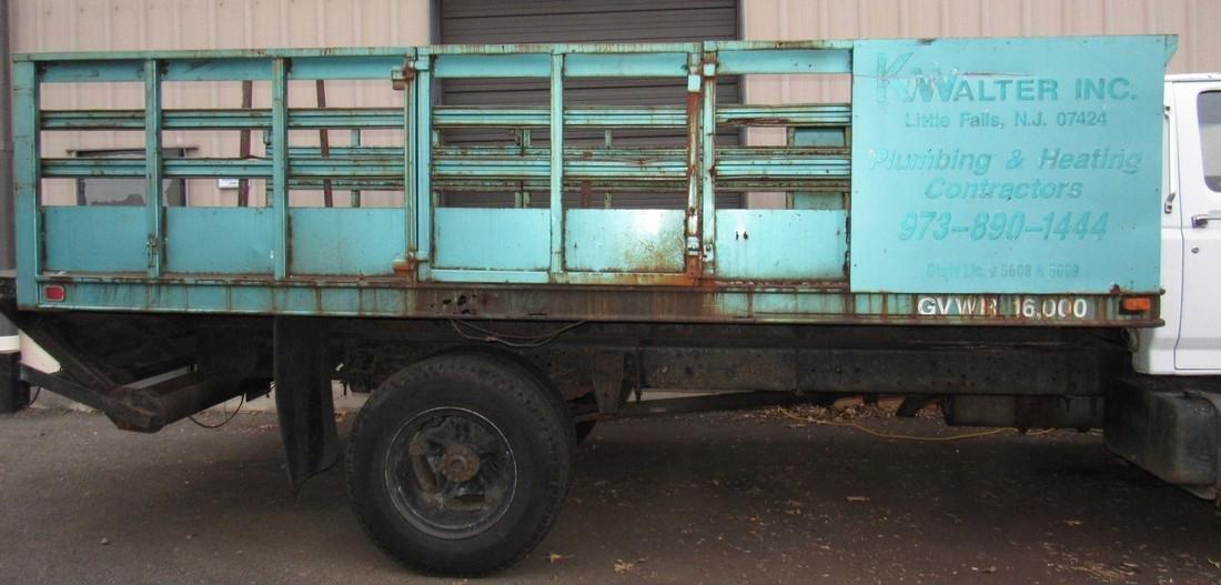 1984 Ford F600 Diesel Rack Body Truck - 3