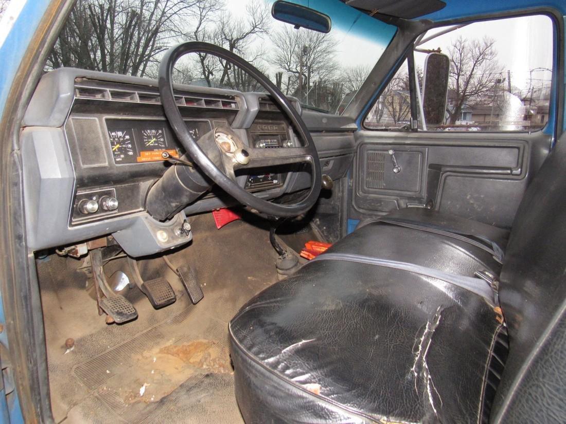 1984 Ford F600 Diesel Rack Body Truck - 7
