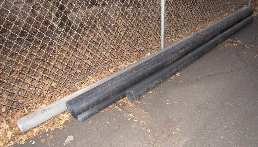 """2"""" 3"""" ABS Pipe Racks Ductile , & misc - 6"""