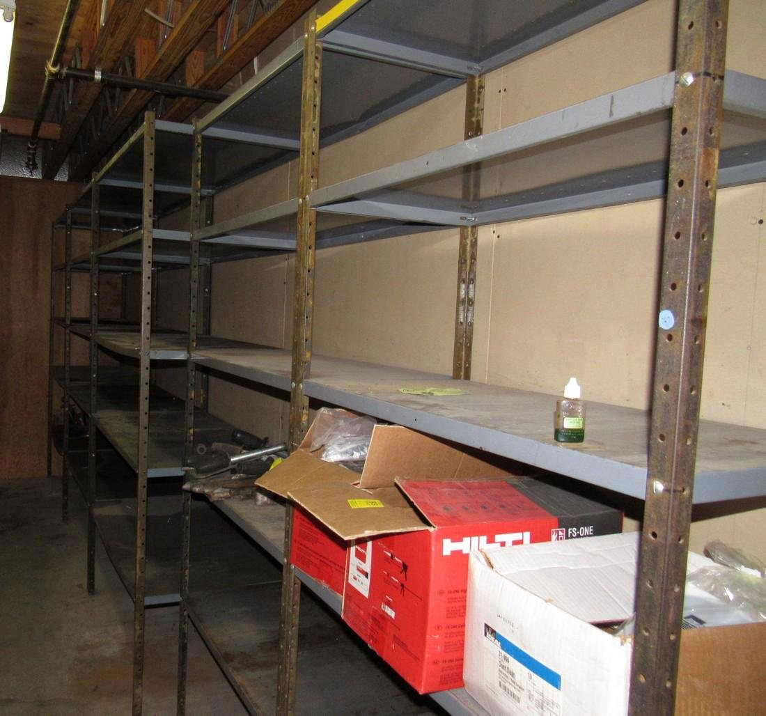 5 Sections of Shelving - 2