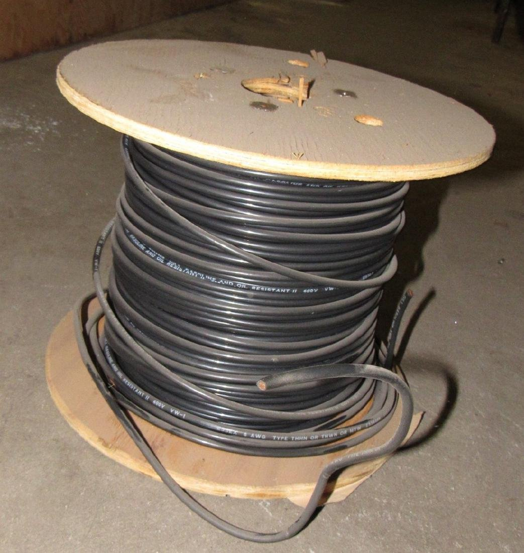 Spool of Essex 8 AWG Type THHN Wire