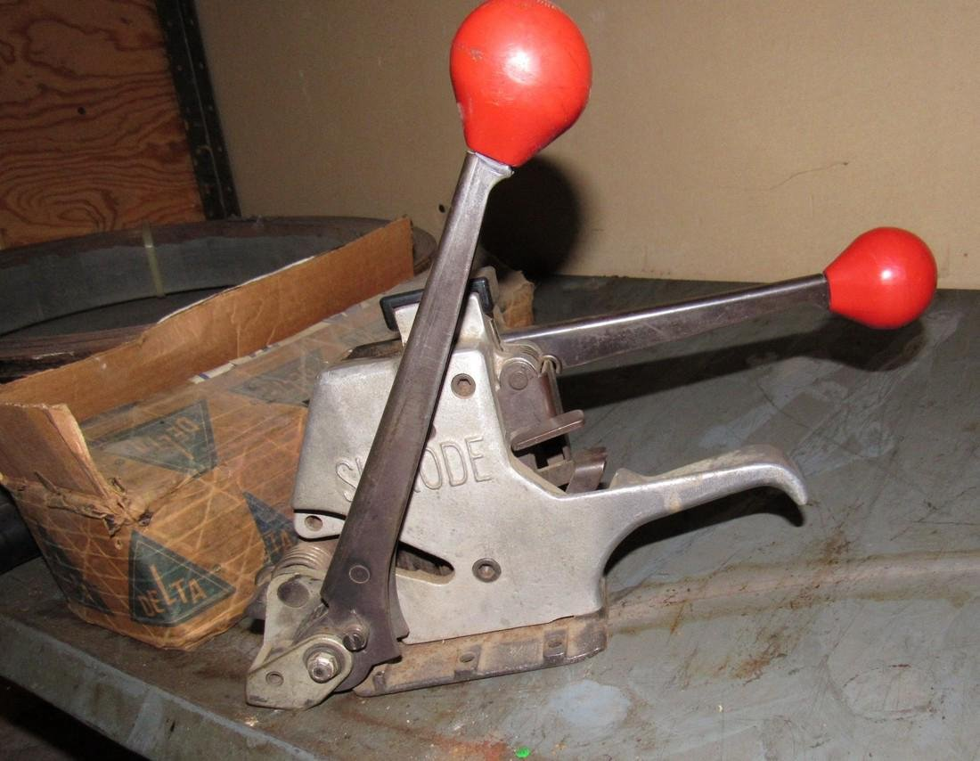 Signode Strapping Machine Banding & Clips - 2