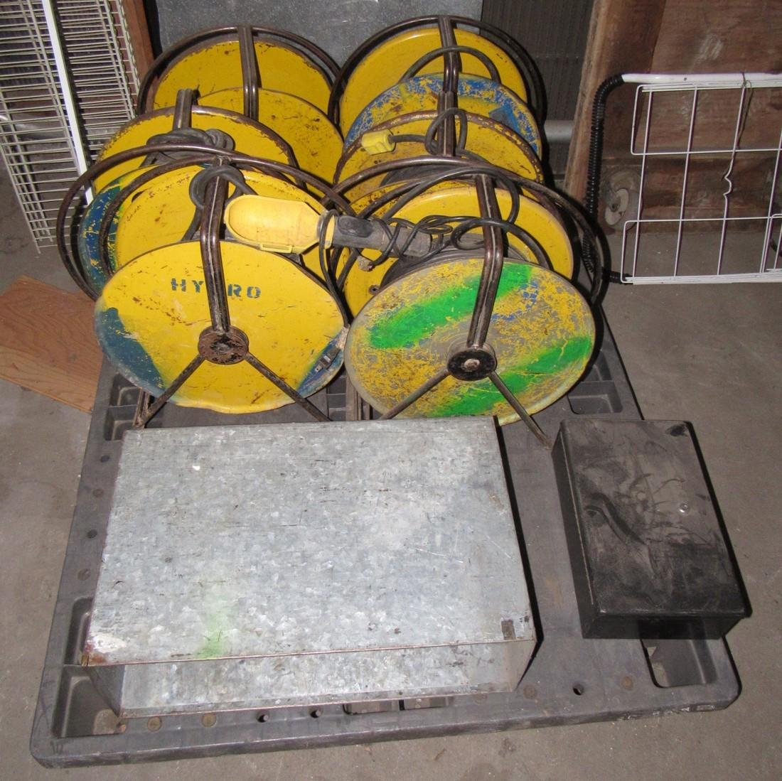 6 Extension Cord Reels