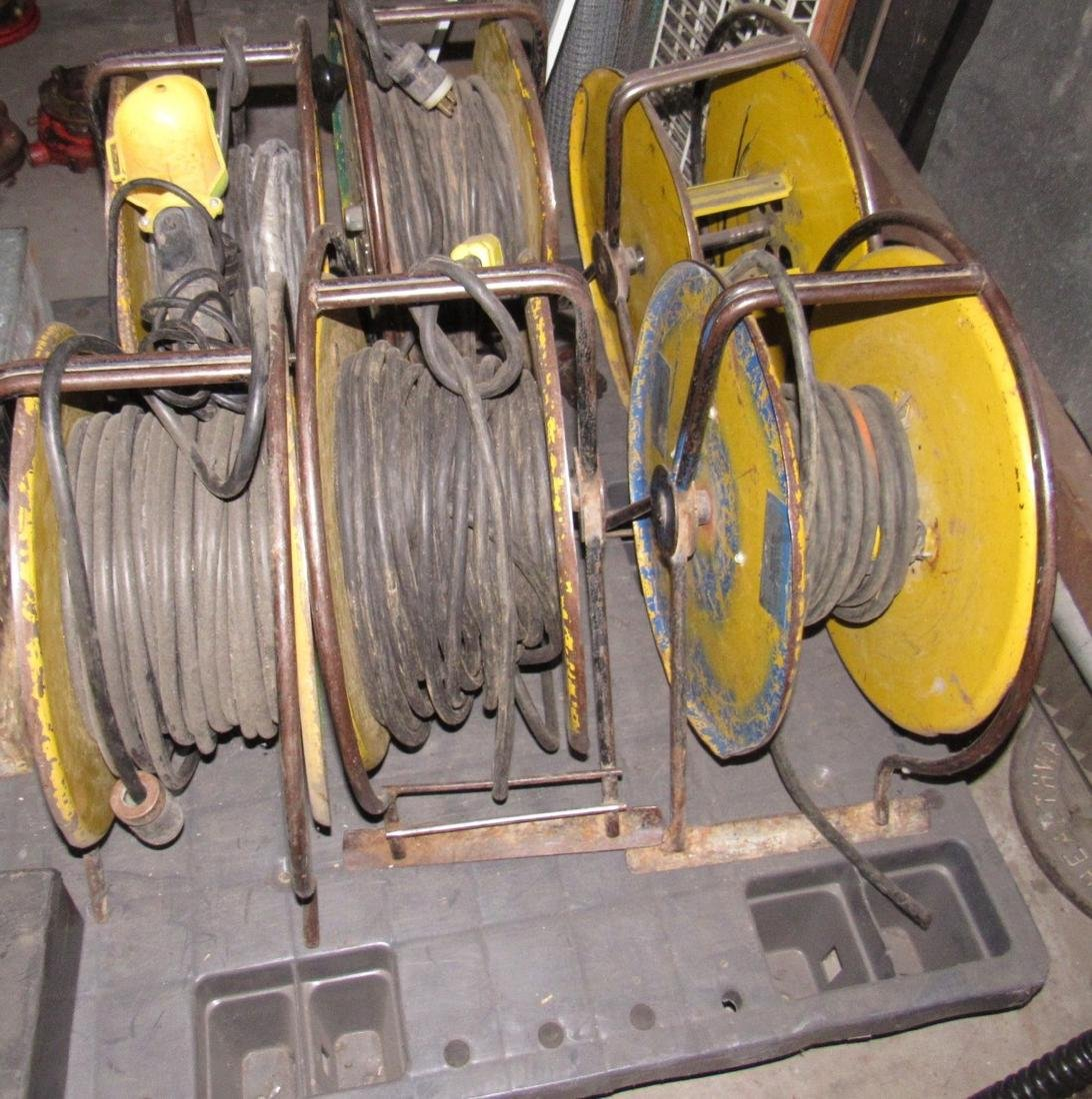 6 Extension Cord Reels - 2