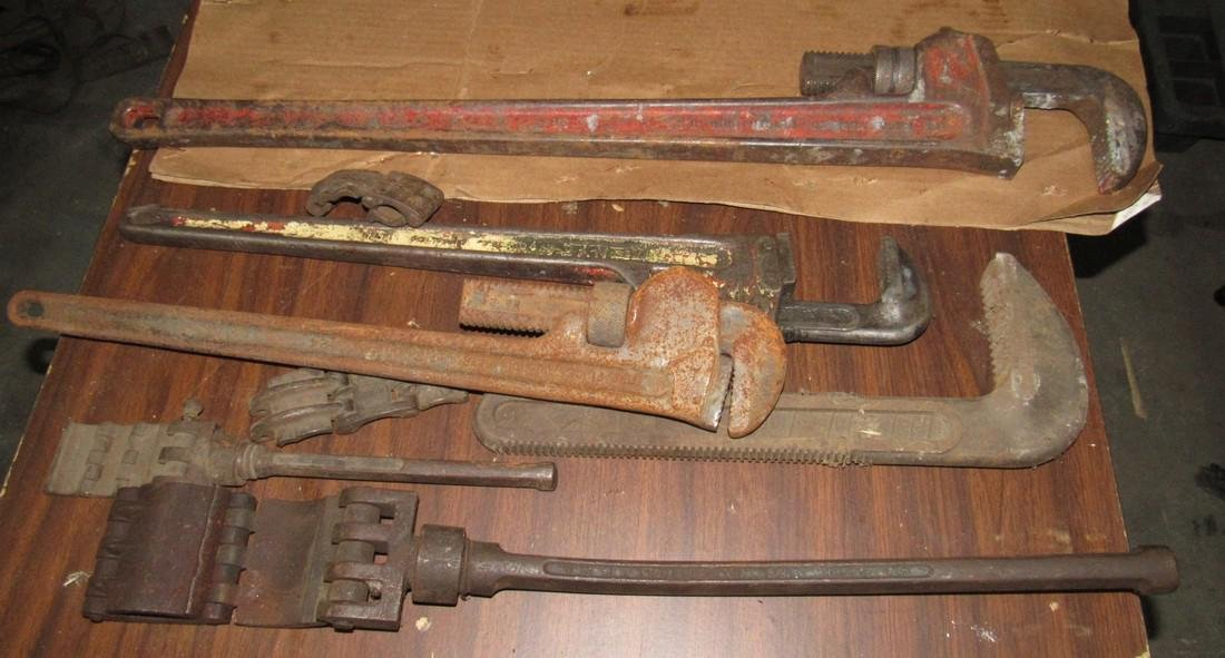 Pipe Wrenches incl. Rigid 36""