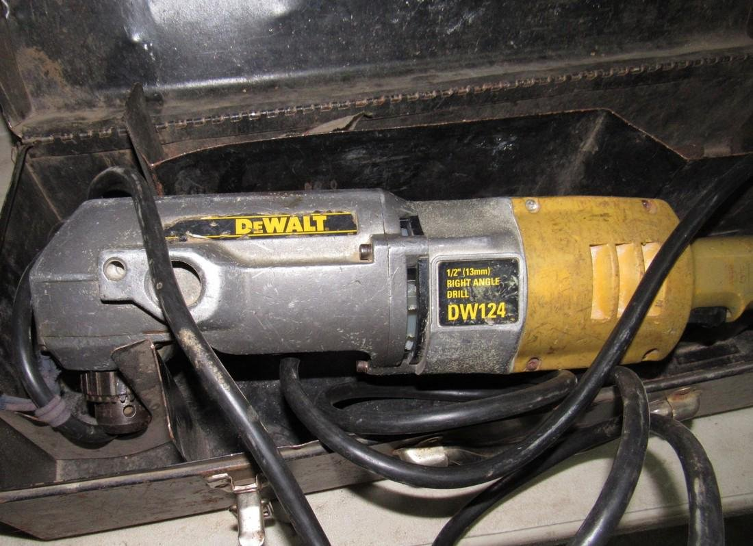 "Dewalt 1/2"" DW124 Right Angle Drill - 2"